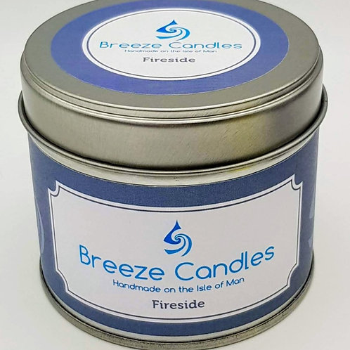 20cl Candle Tin - Fireside