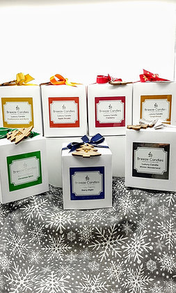 Christmas 30cl Boxed Candle Jar