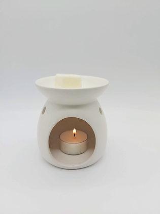 Classic ceramic tealight wax melter