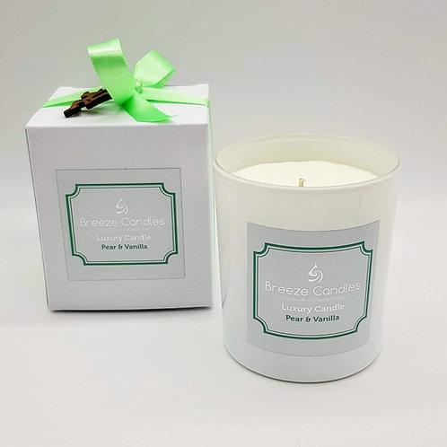 30cl Candle Jar -Pear & Vanilla