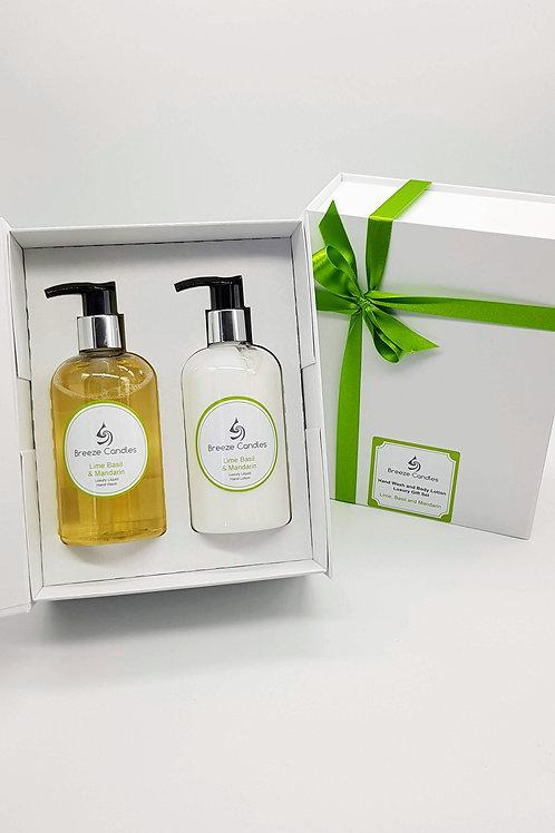 Wash and Lotion Luxury Gift Set