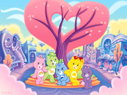 Care Bears Packaging Illustration
