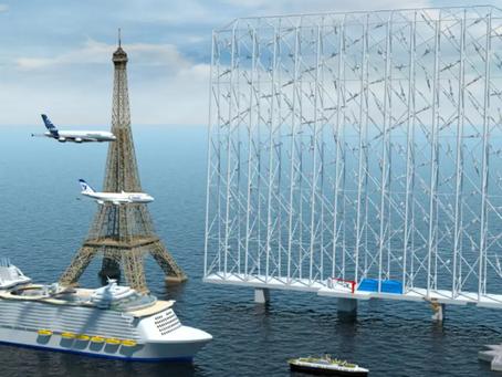 Empresa apresenta tecnologia eólica offshore flutuante que pode gerar até 5 vezes mais energia