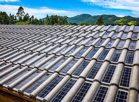 Eternit tem aval para venda de telha que gera energia solar