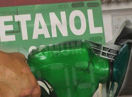 Queda do consumo de etanol no 2º trimestre foi de 30%