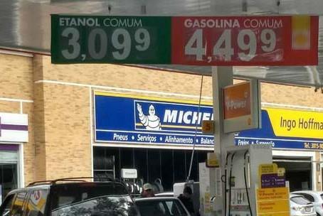 Planalto fica em alerta com insatisfação sobre preço da gasolina