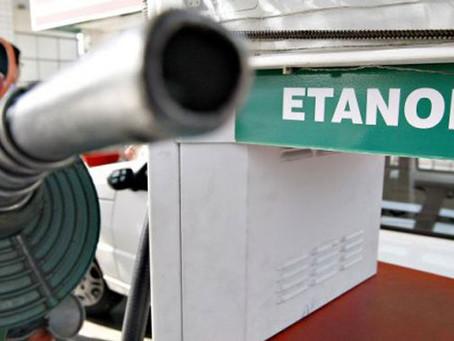 Etanol: hidratado sobe 0,83% e anidro recua 0,59% na semana de 13 a 17 de setembro