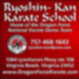 Ryoshin-Kan Karate School AD 29 Nov 2015