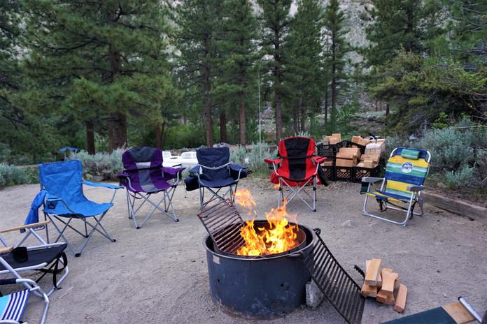 Camping, CA