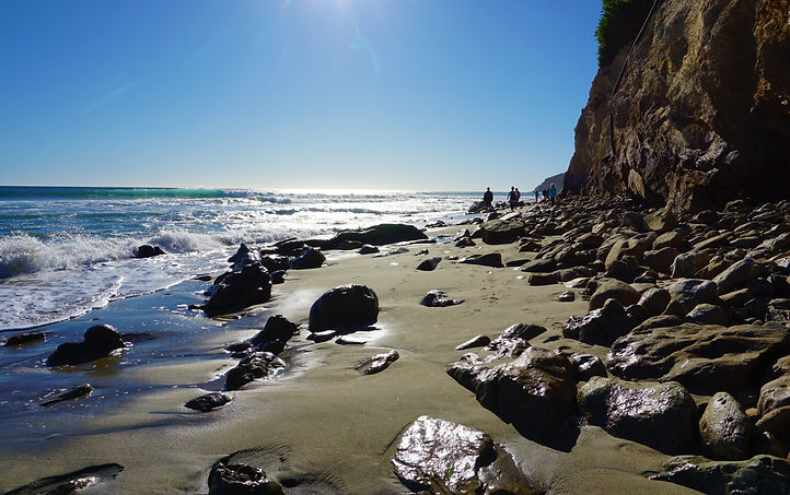 Malibu Beach SP, California