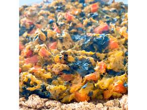 """Veggie quiche with Lentil crust """"vegan"""""""