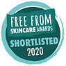 Free From Skincare Awards Shortlisted 2020