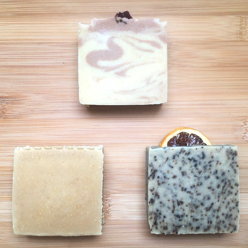 Soap Bars - 3 for £10