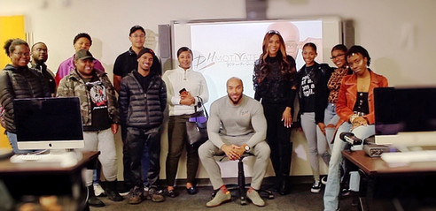 Clark Atlanta University Group Picture.J