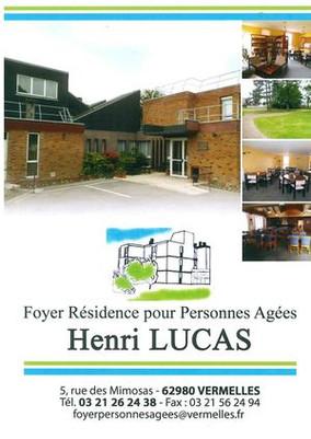Partenariat avec le Foyer Résidence pour Personnes Agées Henri Lucas.