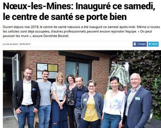 Inauguration du Centre de Santé Noeuxois