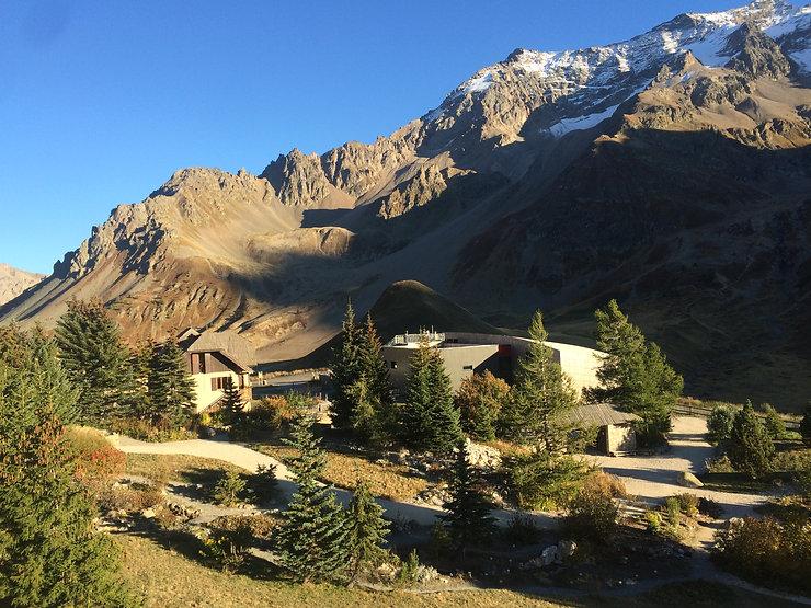 Galerie de l'Alpe dans le Jardin, au pie