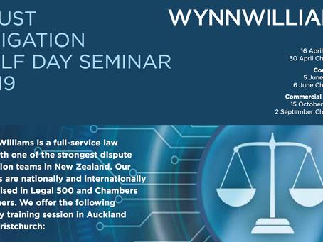 Trust litigation - Wynn Williams Seminar!
