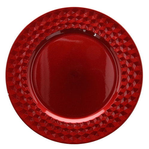 Tess tálalóedény piros
