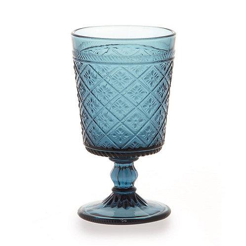Gloria 6 darab borospohár kék