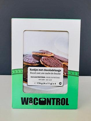 Crunchy Chocolat Cookie (4x4)