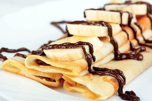 4+1 gratis: Pannenkoek Banaan-Chocolade 28g