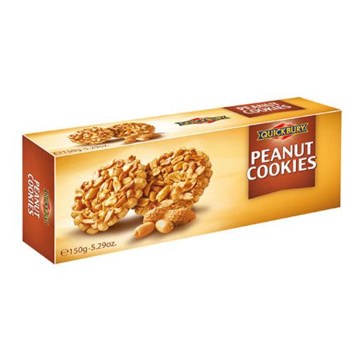 Quickbury Peanut Cookies (suikervrij)