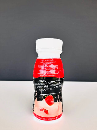 8 X Strawberry Smoothie 200ml (€2.25/stuk)