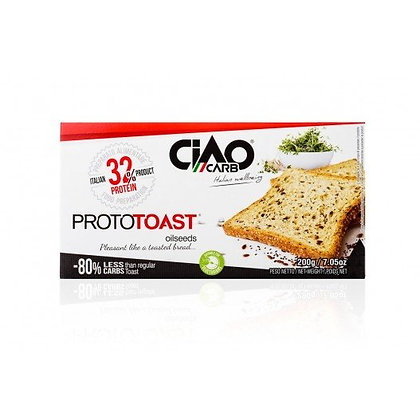 Ciao Carb Prototoast Volkoren (2x8 stuks)
