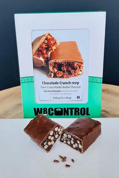 8+2 gratis: Crunchy Chocolade Bar Low Carb (per stuk)
