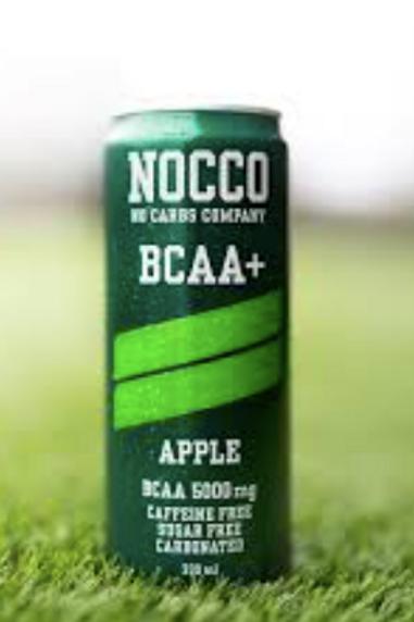 NOCCO BCAA + Apple Drank Caffeïnevrij 330ml