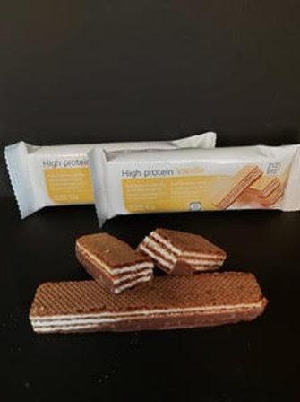8+2: eiwitrijke wafer vanille of chocolade 42g