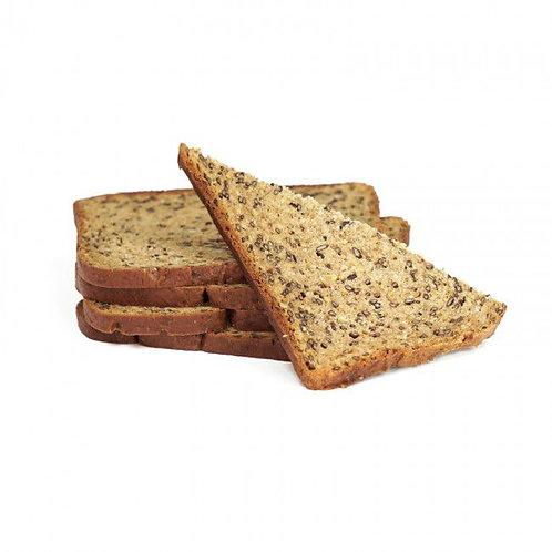 Eiwitrijk Lijnzaadbrood (Per Portie)