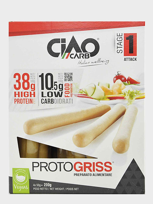 Ciao Carb Protogriss Eiwitrijke Soepstengels snel vermageren