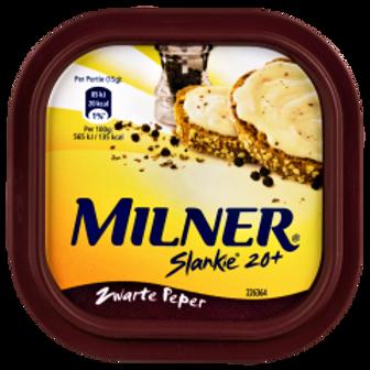 Milner Smeerkaas Zwarte Peper Slankie 20+