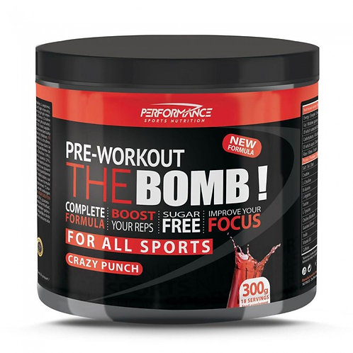 Performance Pre-workout The Bomb 300gr