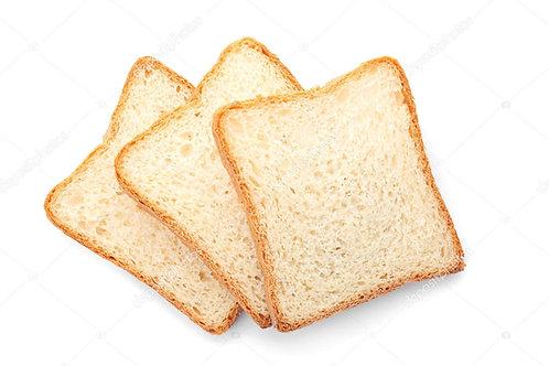 Crusty Toast Natuur Fase 1 (3 stuks/verpakking)