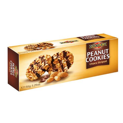 Quickbury Peanut Cookies met Chocolade (suikervrij)