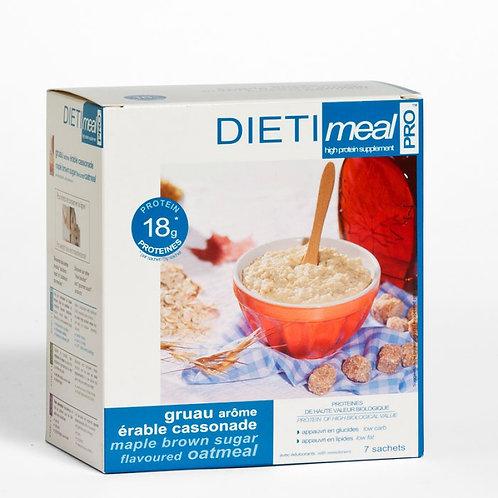 Havermout Dietimeal  Maple Bruine Suiker (7 porties)