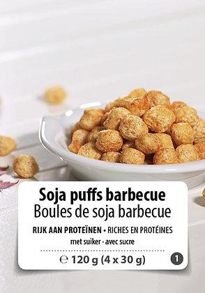 Soja-bolletjes met BBQ-smaak