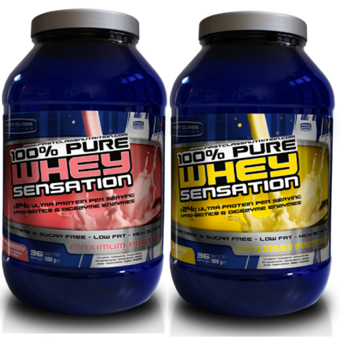 First Class Nutrition 100% Pure Whey Sensation 900gr