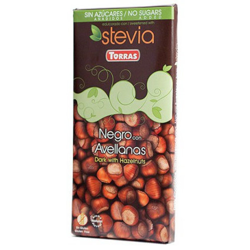 Torras Pure Chocolade met Hazelnoot 100gr
