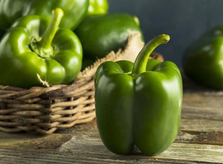 KETO-recept: gevulde groene paprika met spinazie en champignons