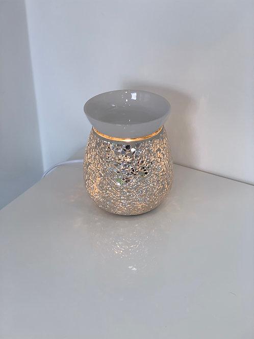 Airpure Electric Wax Melt Burner - Silver Mosaic