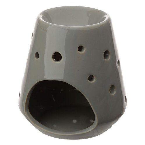 Tapered Ceramic Oil Burner with Circular Cut-out