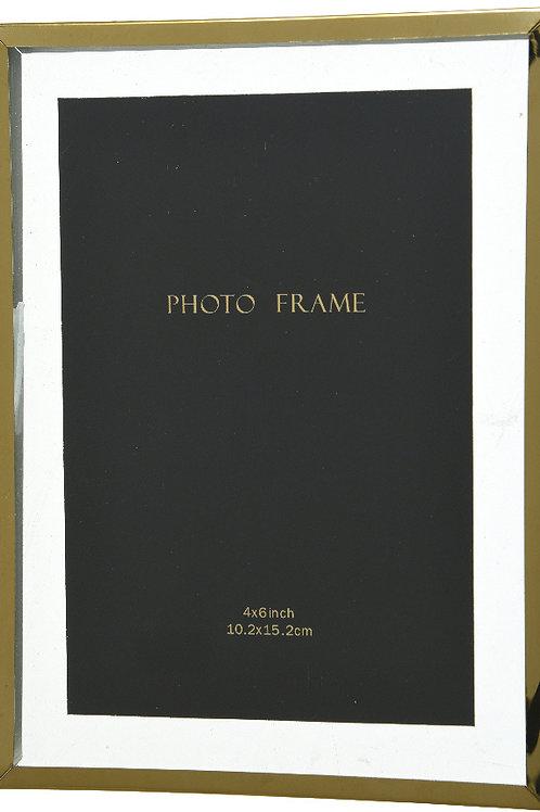 4x6'' Iron Edge Hanging Photo Frame