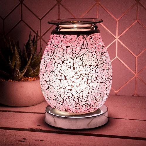 Pink Mosaic Aroma Lamp