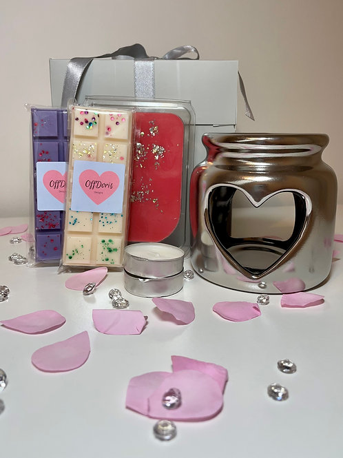 LIMITED EDITION Heart Pot Shaped Gift Set