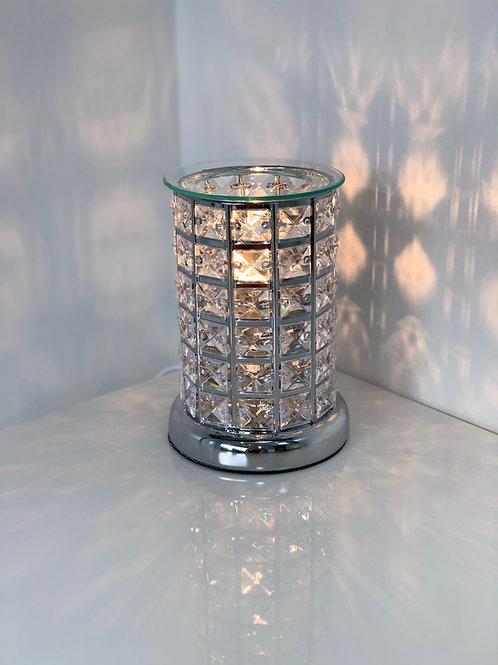 Crystal Touch Sensitive Aroma Lamp Silver or Copper