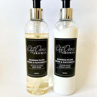 Luxury Hand & Body Wash & Lotion